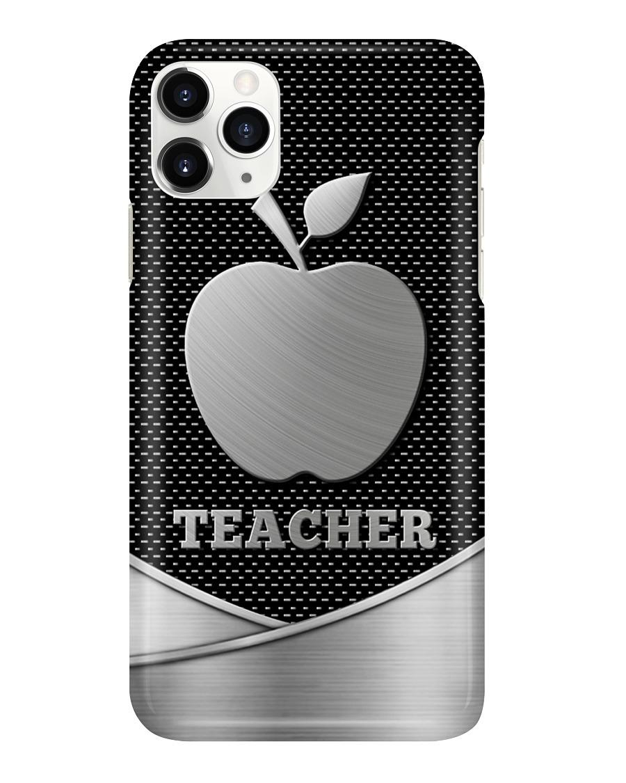 Apple Teacher as metal phone case 11