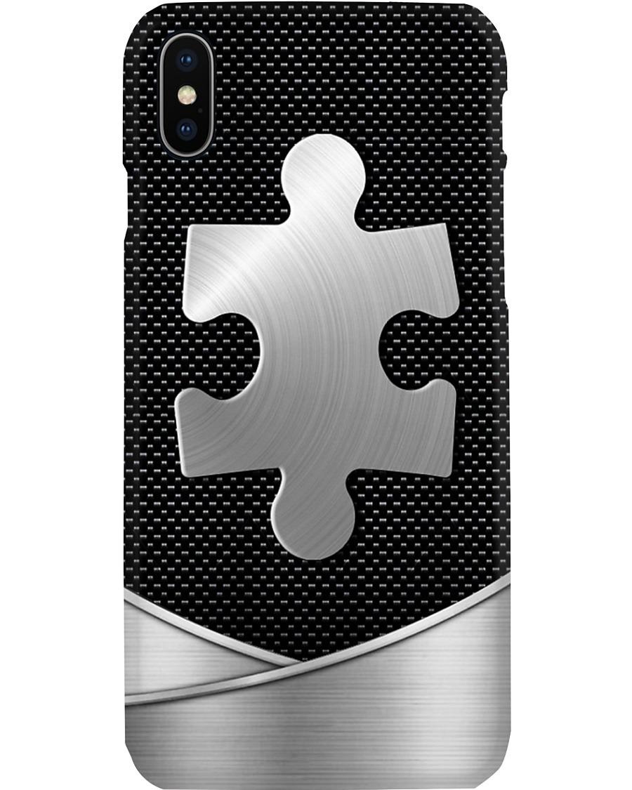 Autism Logo as metal phone x