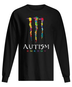Autism Monster Energy long sleeved