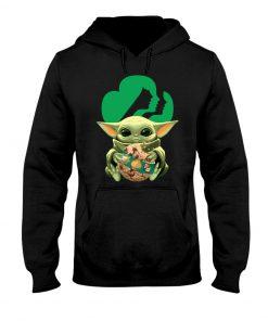 Baby Yoda Girl Scout Hoodie