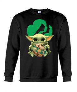 Baby Yoda Girl Scout Sweatshirt