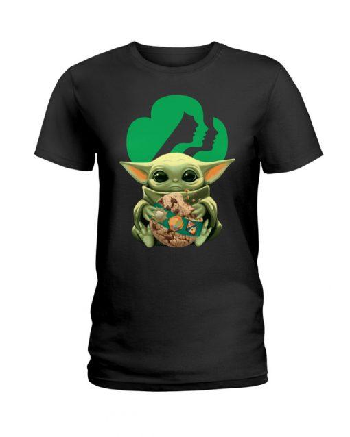 Baby Yoda Girl Scout T-shirt