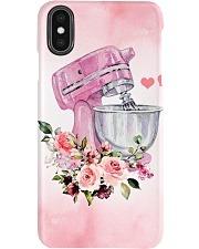 Baking Pink Flowery Electric Mixer Phone case xs