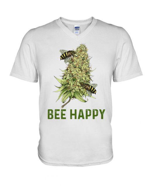 Bee Happy V-neck