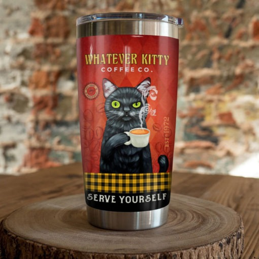 Black Cat Coffee Company Serve yourself tumbler