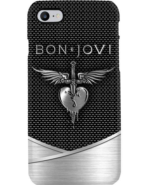 Bon Jovi Death Punch logo as metal phone case7