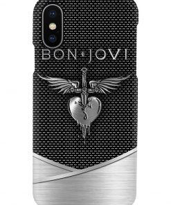 Bon Jovi Death Punch logo as metal phone casexs
