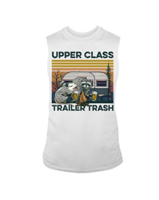 Camping Upper Class Trailer Trash vintage Tank top