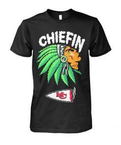 Chiefin Kansas City Chiefs Weed T-shirt