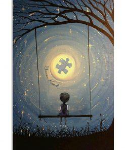 Choose kind autism awareness poster 1