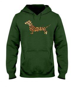 Dachshund Leopard hoodie