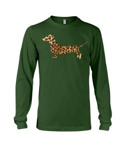 Dachshund Leopard long sleeved