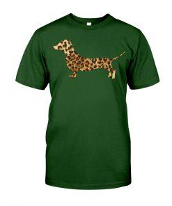 Dachshund Leopard shirt