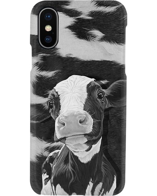 Dairy Cow black and white phone case x