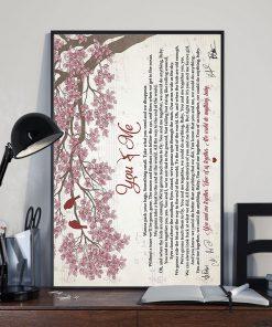 Dave Matthews Band - You & Me lyrics poster 1