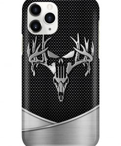 Deer Hunting Skull as metal phone case 11