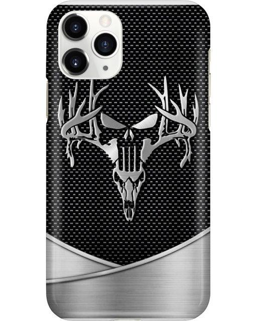 Deer Hunting Skull as metal phone case 11
