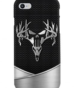 Deer Hunting Skull as metal phone case 7