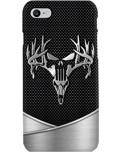 Deer Hunting Skull as metal phone case 7