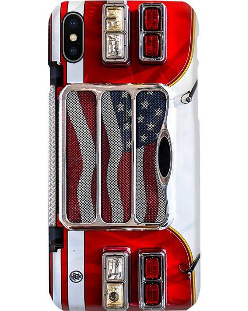 Firefighter Fire Truck phone case iphone x