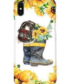 Firefighter Sunflower phone case x