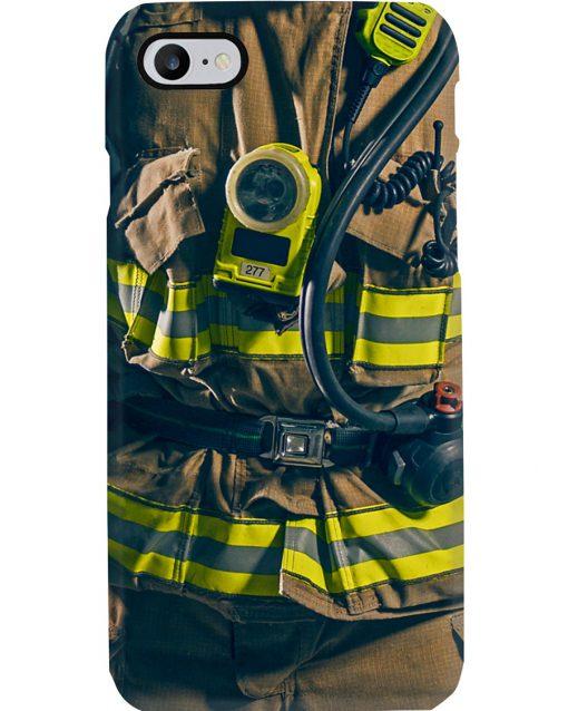 Firefighter uniform phone case 7