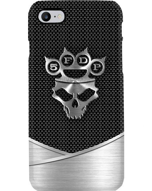 Five Finger Death Punch logo as metal phone case7