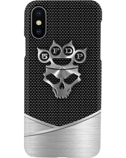 Five Finger Death Punch logo as metal phone case11