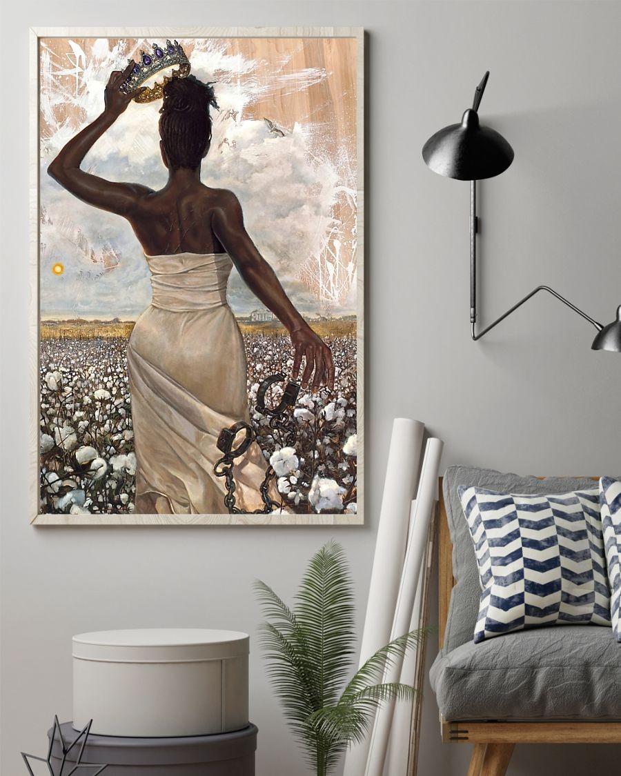 Free Black Women Queen poster 2