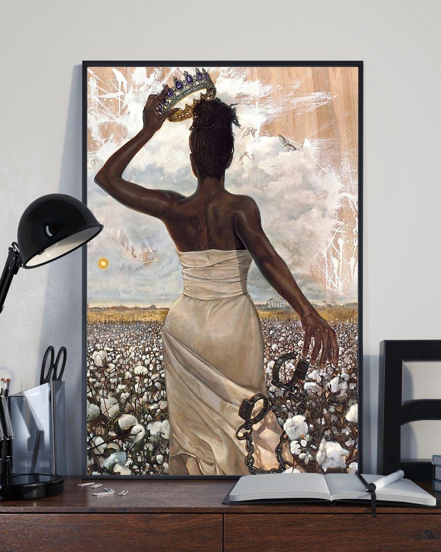 Free Black Women Queen poster 3
