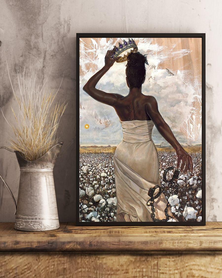 Free Black Women Queen poster 4