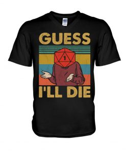 Game Guess I'll Die Vintage V-neck
