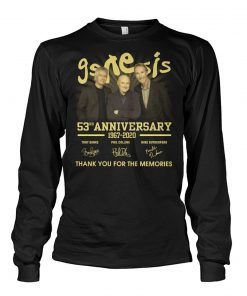 Genesis 53rd anniversary Thank you for the memories Long sleeve