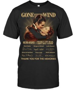 Gone with the Wind 1939-2020 anniversary T-shirt