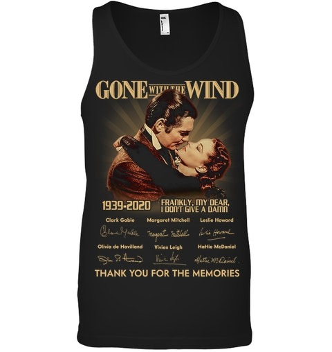 Gone with the Wind 1939-2020 anniversary Tank top