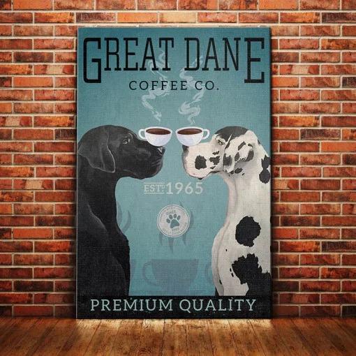 Great Dane Dog Coffee Company poster 1