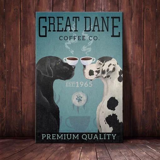 Great Dane Dog Coffee Company poster 2