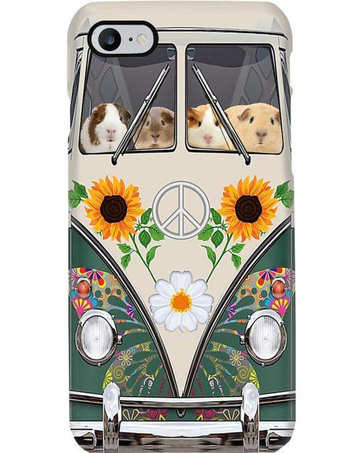 Guinea Pig VW Volkswagen Beetle bugs Hippie flowers phone case 7