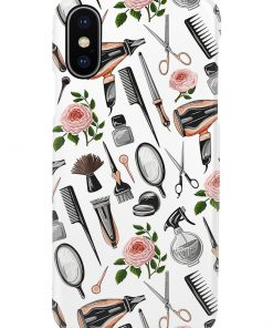 Hairdresser Tools Flower phone case x