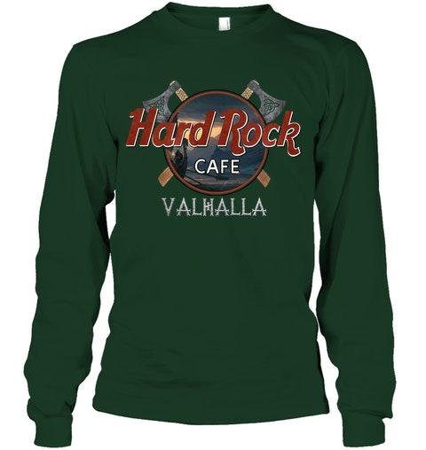 Hard Rock Cafe Valhalla long sleeved