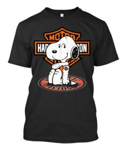 Harley Davidson Snoopy tatoo T-Shirt
