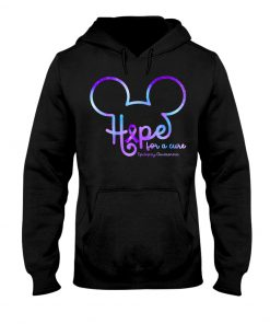 Hope for a cure Epilepsy Awareness Mickey mouse hoodie