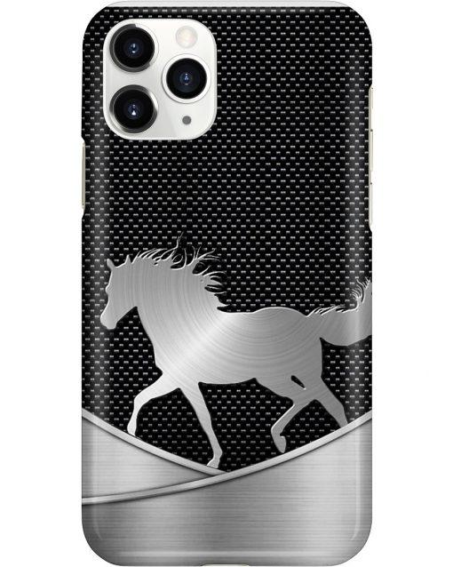Horse as metal phone case 11