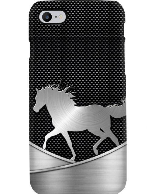 Horse as metal phone case 7