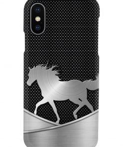 Horse as metal phone case x