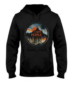 I Hate People Camping hoodie