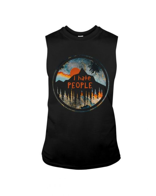 I Hate People Camping tank top