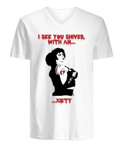 I see you shiver with anxiety Frank N. Furter V-neck