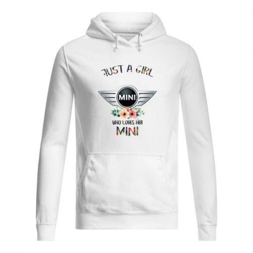 Just a girl mini who loves her mini hoodie