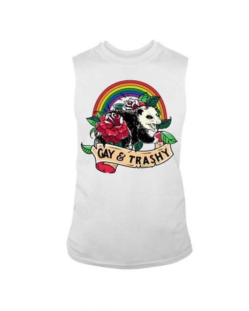 LGBT Gay and Trashy tank top